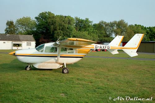 G-AXFG Cessnaa 337D Super Skymaster (Hilversum, 1989)