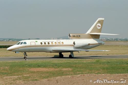 5A-DCM Falcon 50 (Le Bourget, 1990)
