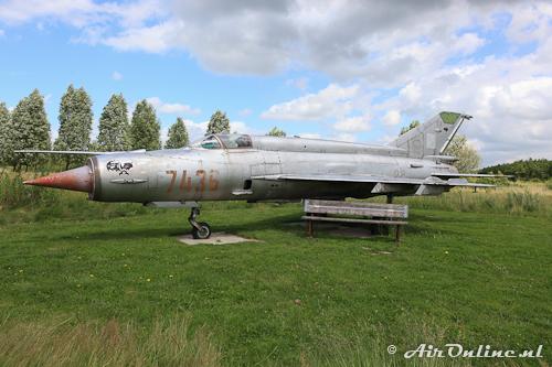 7436 MiG-21MF-75 Fishbed J (ex Polish Air Force)