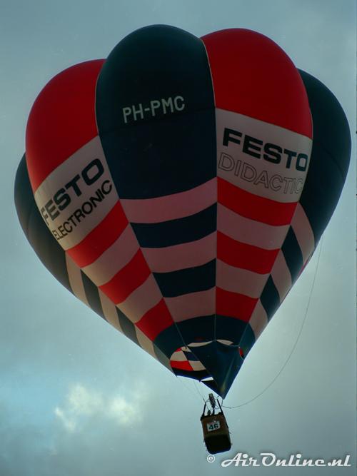 PH-PMC Cameron V-77 Festo (Breda Ballon Fiësta 1986)