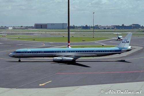 PH-DEF McDonnell Douglas DC-8-63 KLM Royal Dutch Airlines