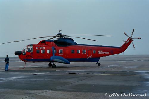 EI-BHO Sikorsky S-61N Mk.II Irish Helicopters (Schiphol, 1985)