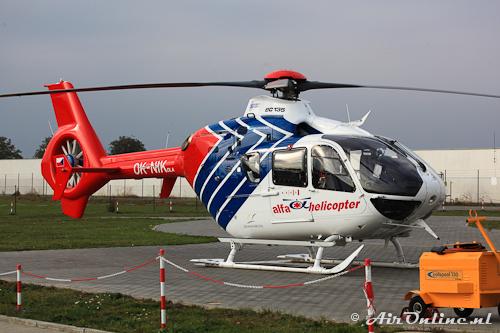 OK-NIK Eurocopter EC 135 T2 (Brno, 9 okt 2012)