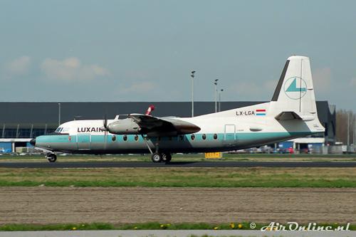 LX-LGA Fokker F-27-100 Friendship Luxair
