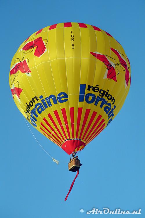 F-GRLO Siga Balloon MA 30 (Chambley 1997)