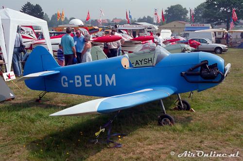 G-BEUM Taylor JT.1 Monoplane