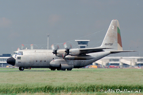 4X-FBF / 301 Lockheed C-130E Hercules Israeli Air Force