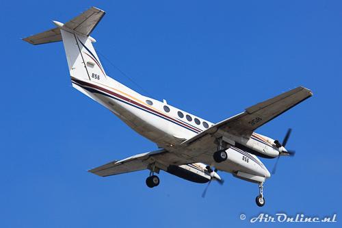 856 Beech Super King Air B200T IAF