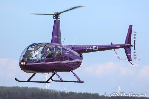 PH-HCA Robinson R44 Raven II, sinds 12 april ingeschreven in Nederland