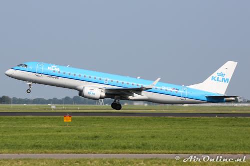 PH-EZE Embraer 190-100STD KLM CityHopper