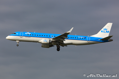 PH-EZP Embraer 190-100STD KLM CityHopper