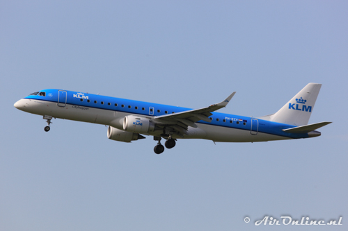 PH-EZV Embraer 190-100STD KLM CityHopper
