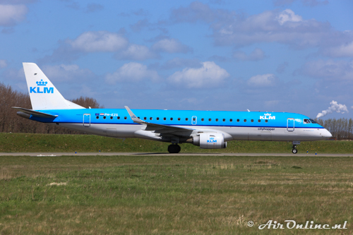 PH-EZG Embraer 190-100STD KLM CityHopper