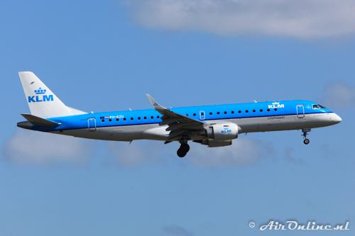 PH-EZU Embraer 190-100STD KLM CityHopper