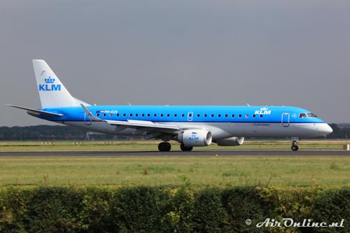 PH-EZO Embraer 190-100STD KLM CityHopper