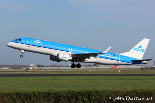PH-EZN Embraer 190-100STD KLM CityHopper