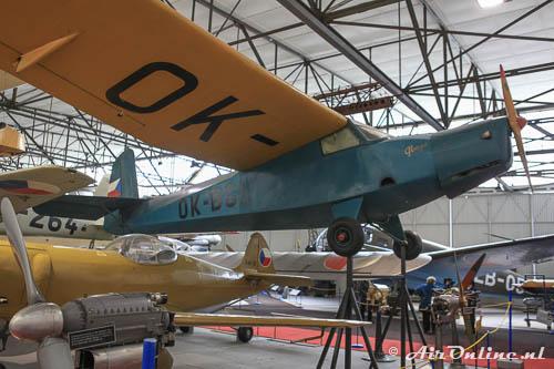 OK-BGL Praga E.114M Air Baby (Kbely, 2012)