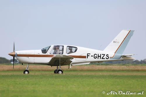 F-GHZS Socata TB-9 Tampico (Texel, 28 juli 2012)