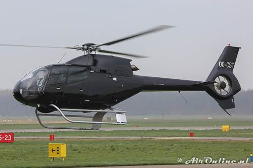 OO-CST Eurocopter EC-120B Colibri op de terugweg naar België