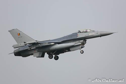 FA-92 F-16AM BAF