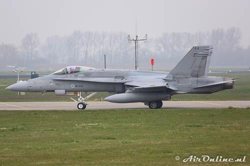 HN-444 F-18C Hornet Fin AF
