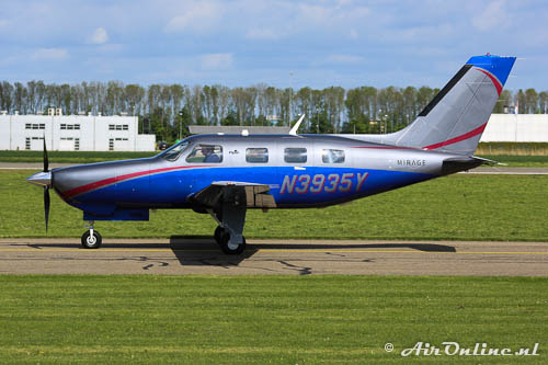 N3935Y Piper PA-46-350P Malibu Mirage