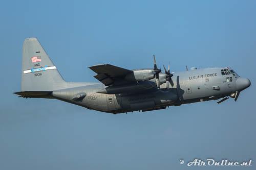 91-1236 Lockheed C-130H Hercules USAF Kentucky ANG
