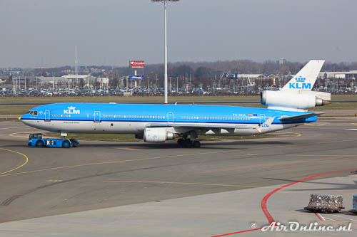 PH-KCA MD-11 KLM