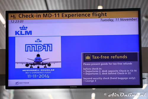 Check-in MD-11 Farewell Flight