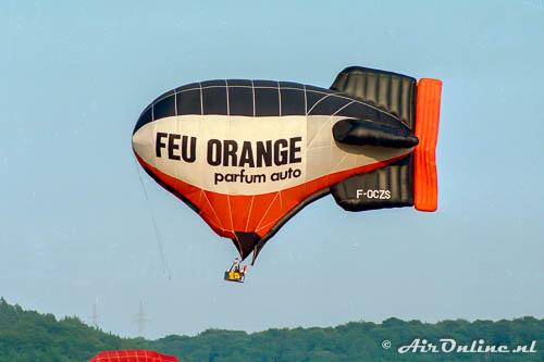 F-GCZS Cameron D-50 Hot Airship Feu Orange (1988 Walferdange, LUX)
