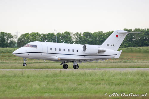 TS-IAM Bombardier CL.600-2B16 Challenger 604