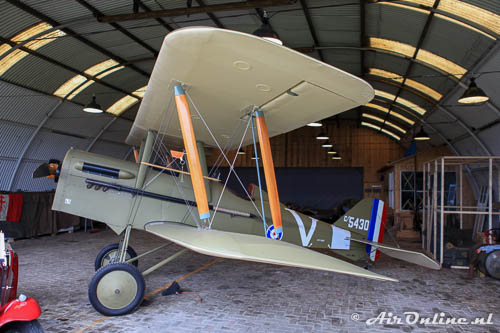 PH-IWO c/5430 Royal Aircraft Factory SE-5A replica