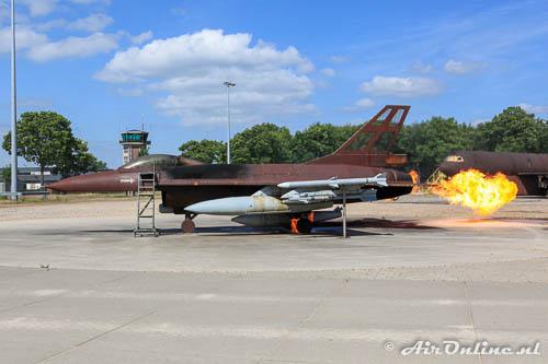 Dit model lijkt heel sterk op een echte F-16