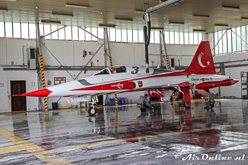 70-3032 Canadair NF-5A Freedom Fighter Turkish Stars