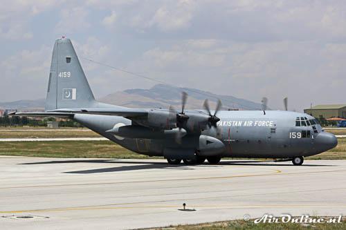 4159 Lockheed C-130E Hercules PakistanAF