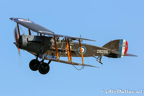 D8096 Bristol F.2B Fighter van de Shuttleworth Collection
