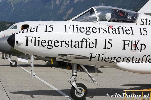 HB-RVS Hawker Hunter F58