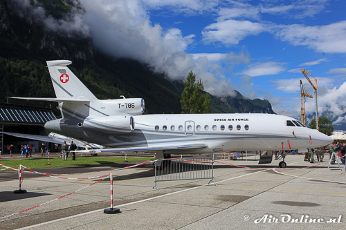 "T-785 Dassault Falcon 900EX ""Swiss Air Force One"""