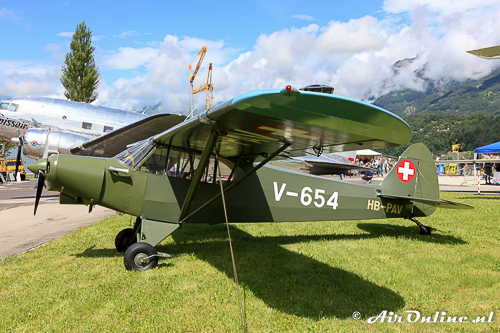 HB-PAV Piper PA-18-150 Super Cub