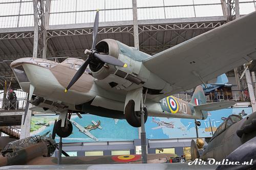 10038/XD-A Bristol Fairchild Bolingbroke IVT RAF