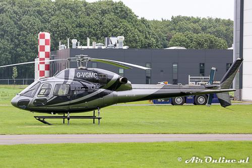 G-VGMC Aerospatiale AS355N Ecureuil 2 was ook weer terug uit de UK