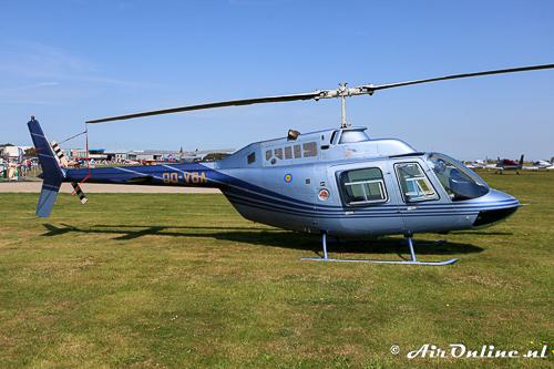 OO-VBA Bell 206B-3 Jet Ranger III