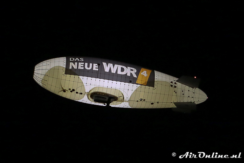D-LDFR WDL Luftschiff WDL-1B boven het startveld
