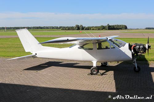 Zo ziet de G-BAJE Cessna 177 Cardinal er momenteel uit