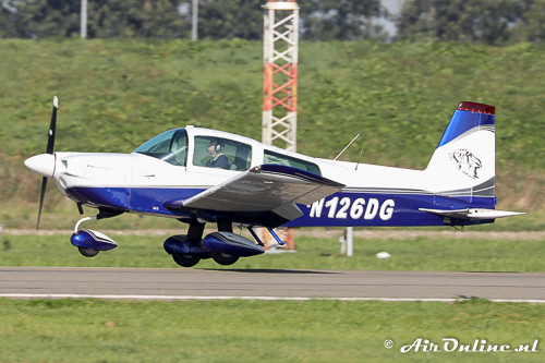 N126DG Grumman American AA-5B Tiger