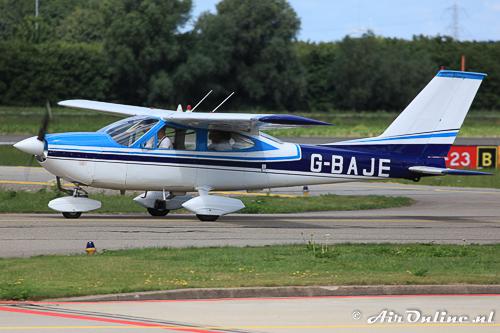 G-BAJE Cessna 177 Cardinal in juli 2010