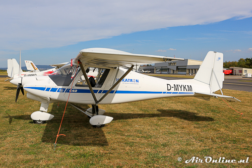 D-MYKM Comco Ikarus C42 Cyclone