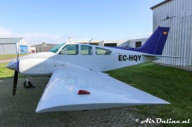 EC-HQY Beech 95-B55 Baron