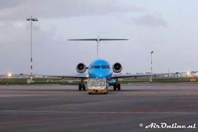PH-KZL Fokker 70 KLM CityHopper
