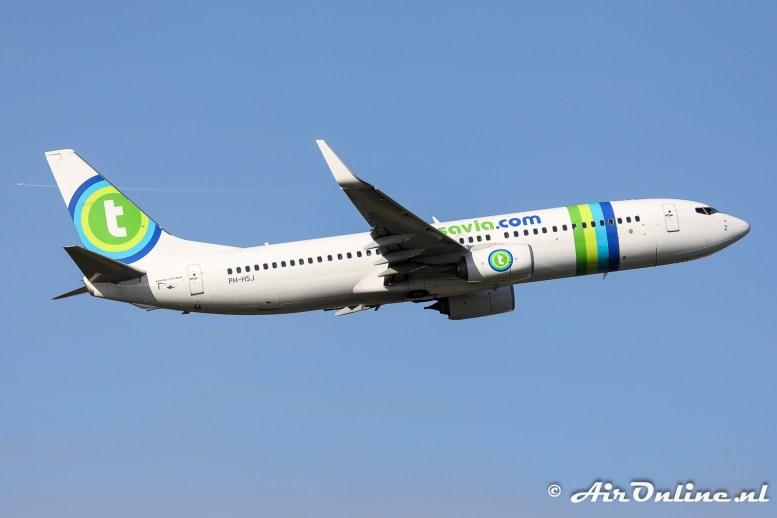 PH-HSJ Boeing 737-8K2(WL) Transavia